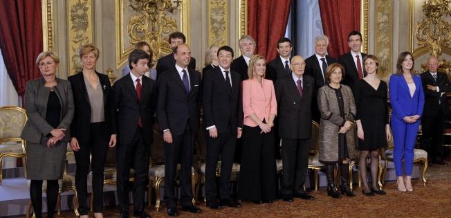 Governo Renzi: composizione & contatti