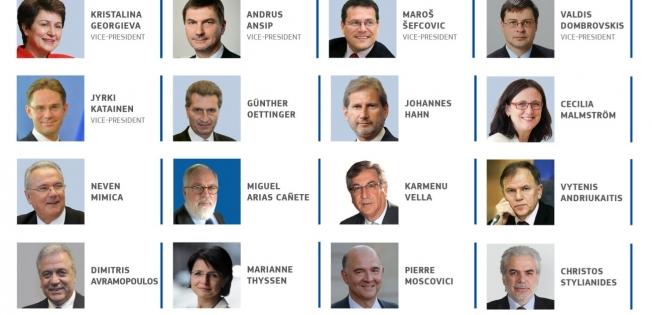 Chi sono i membri della nuova Commissione Juncker?