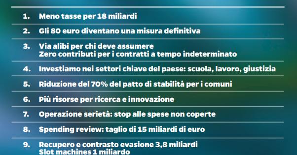 Legge di Stabilità 2015: contenuti ed emendamenti